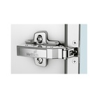 Sensys aluminium frame hinge with integrated Silent System