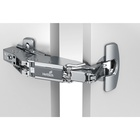 Sensys wide angle hinge with integrated Silent System