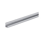 Door end profile, U shaped Door thickness 19 mm / 18 mm 2050 mm