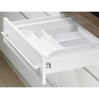 OrgaTray 650, D 433 - 483 / W 200 - 240 mm, white