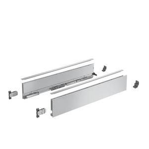 AvanTech YOU Drawer side profile set, height 101 mm x NL 500 mm, silver, left and right