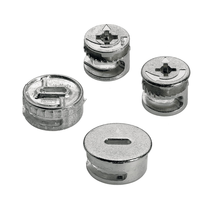 raccordi di assemblaggio rastex Pannello 18 mm Set di 30 tasselli in Ferro Aerzetix C41554